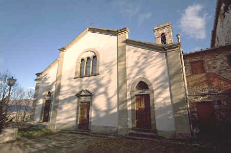 church of Santo Stefano Montefioralle